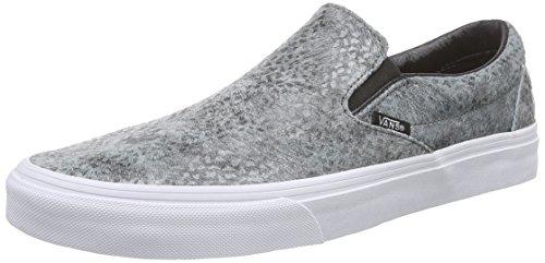 Vans U Classic Slip-On Pebble Snake, Sneakers, Unisex, Grigio (Pebble Snake) gray/black), 40