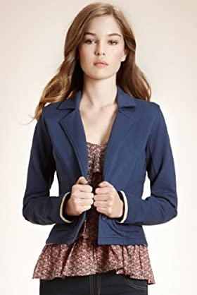 Angel Pure Cotton Long Sleeve Jersey Blazer
