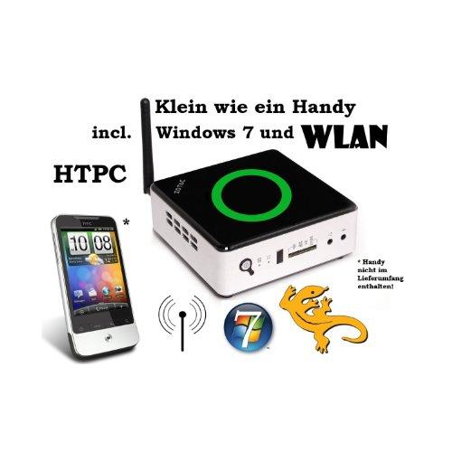 Zotac ZBOX HTPC NANO AD12 mit AMD E2-1800 2x 1,7Ghz, 120GB SSD + Windows 7, incl. WLAN, USB 3.0, Fernbedienung