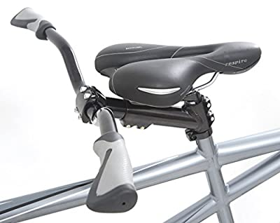 Indigo Turismo 2 Tandem Bike - Grey, 18/15-Inch