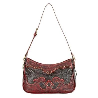 American West Women's Annies Secret Shoulder Bag Crimsom One Size