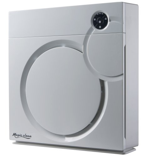 Spt Hepa Air Purifier with Ion Flow Technology, White