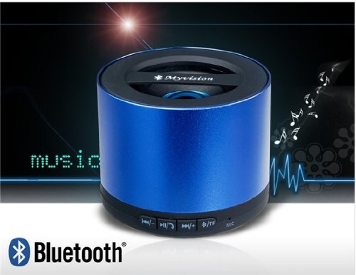 My Vision N9 Mini Wireless Stereo Bluetooth Speaker With Card Reader (Blue)