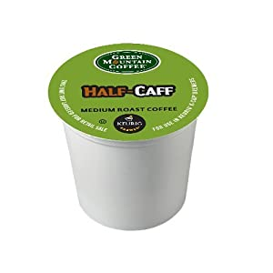 Green Mountain Coffee K-Cup for Keurig K-Cup Brewers, Half-Caff