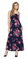 Sera Women's Dress (LA2282-Navy-S, Blue, Small)