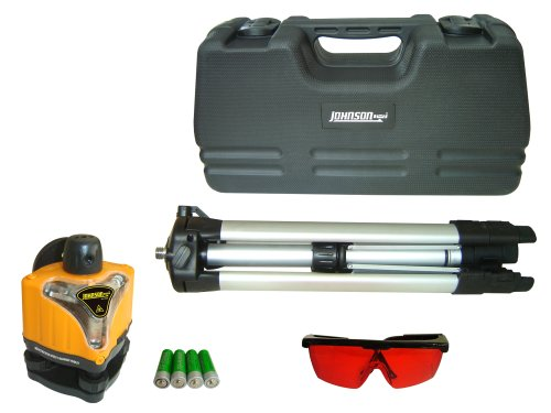 Johnson Level and Tool 40-0918 Johnson Rotary Laser Level Kit