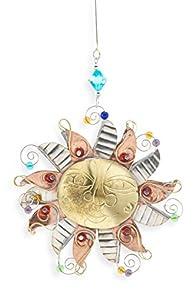 Pilgrim Imports Folk Art Sun Fair Trade Ornament
