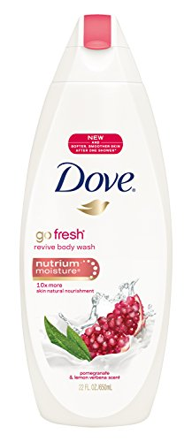 Dove go fresh Body Wash, Revive, Pomegranate and Lemon Verbena, 22 oz (2 pack)