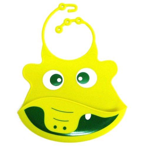 Deer Mum Silicone Baby Bibs Cute Cartoon Animal Face Design Waterproof Bib (11) front-994538