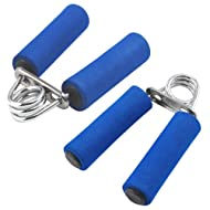TRIXES 2 X Hand Gripper Pair Heavy Grip Exercise Fitness Body Building Bar Clips Price-image