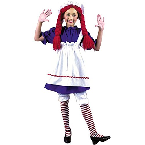 Girl's Rag Doll Costume (Size:Small 6-8)