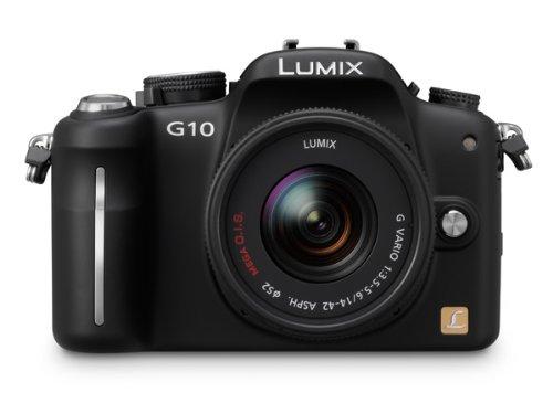 Panasonic Lumix G10 12.1MP Compact System Camera Kit - Black