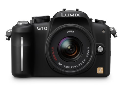 Panasonic Lumix G10 12.1MP Compact System Camera
