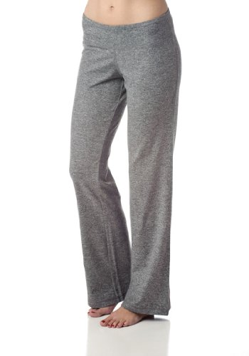 Soybu Women's Zen Yoga Pant,Granite Heather,XL