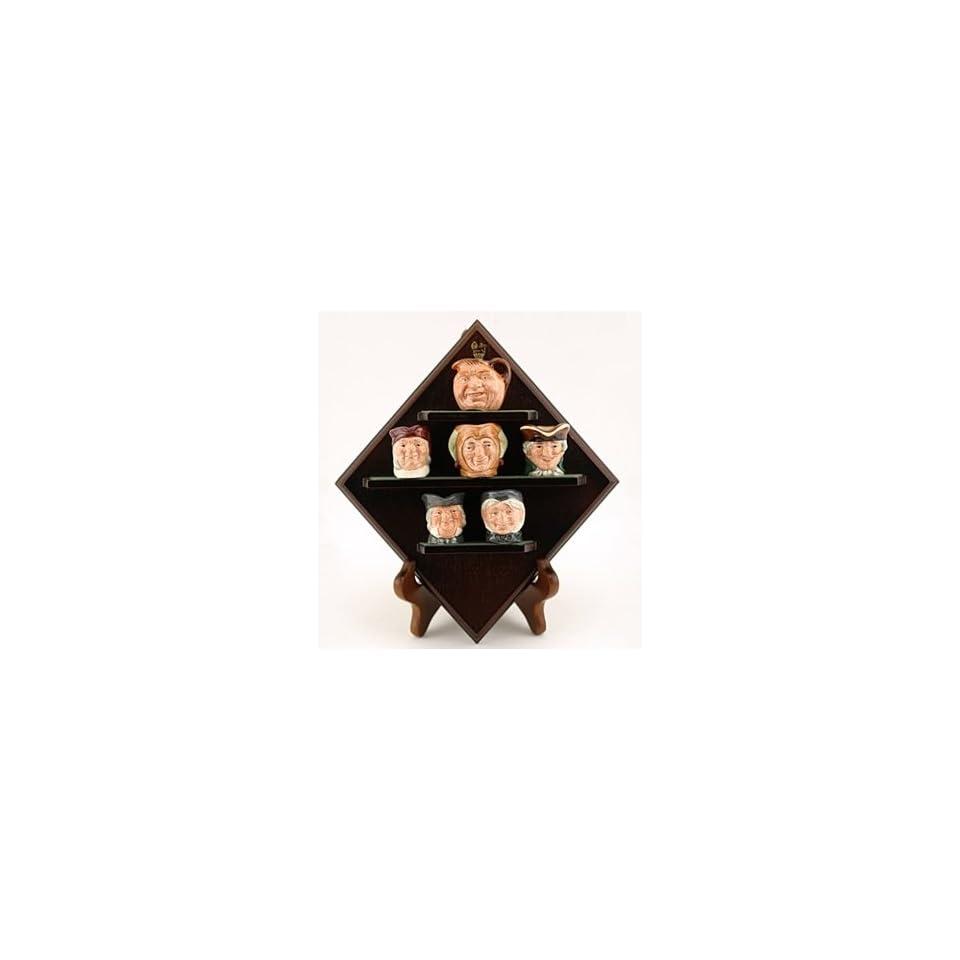 Royal Doulton Character Jug Diamond Anniversary Set