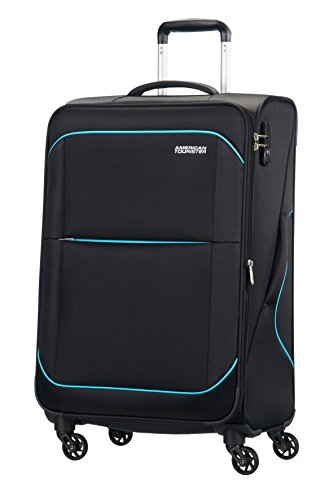 american-tourister-sunbeam-spinner-4-ruedas-55-20-equipaje-de-mano-negro-after-dark-m-685cm-75l