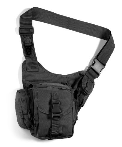 Red Rock Outdoor Gear Sidekick Sling Bag (Small, Black) (Side Pouch compare prices)