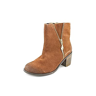 Betsey Johnson Mandda Womens Size 6 Brown Suede Fashion Ankle Boots