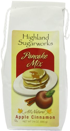 Highland Sugarworks American Apple and Cinnamon Pancake Mix 680 g