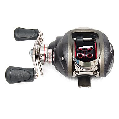 Trulinoya - (TR120LA) Fishing Reel 10+1 Ball Bearing Left Hand (Black)