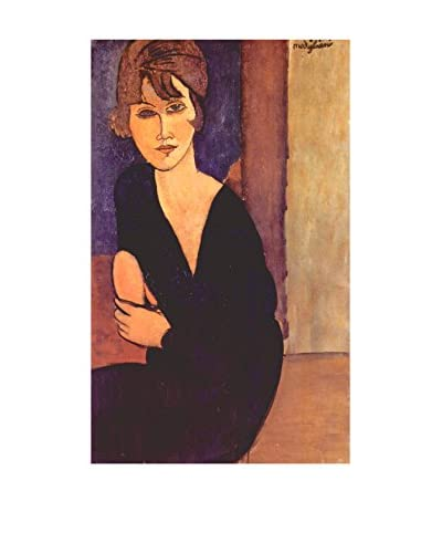 LegendArte Panel Decorativo Retrato de Madame Reynouard de Amedeo Modigliani