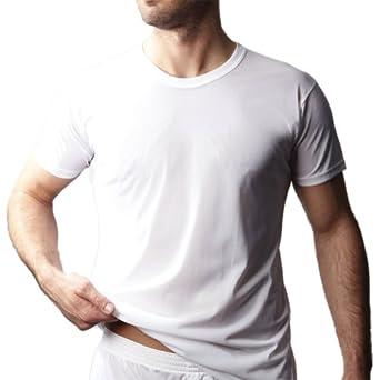 Players Men's Combed Cotton Crew Neck T-Shirt -White-2X