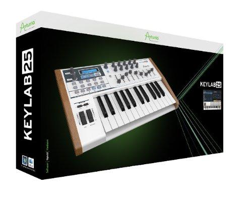 Arturia 230411  KeyLab 25 Hybrid USB/MIDI Keyboard Controller (Midi Breath Controller compare prices)