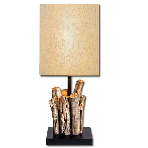 Lume in legno naturale lampada da soggiorno da camera studio
