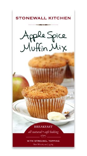 Stonewall Kitchen Muffin Mix, Apple Spice, 18.9-Ounce (Pack of 3)