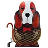 WBM HBM-7002 Himalayan Breeze Decorative Fan Basset Hound - Medium