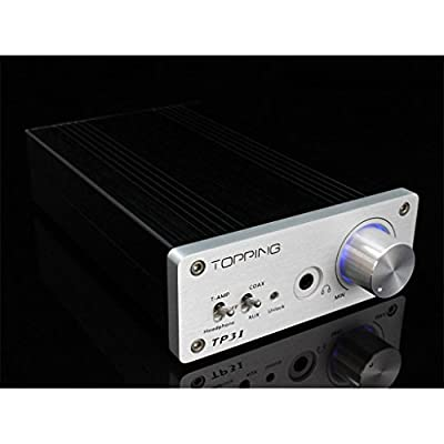 Topping TP31 Class T Amplifier Coaxial 24Bit/192kHz DAC with Headphone Amp Stereo Head AMP