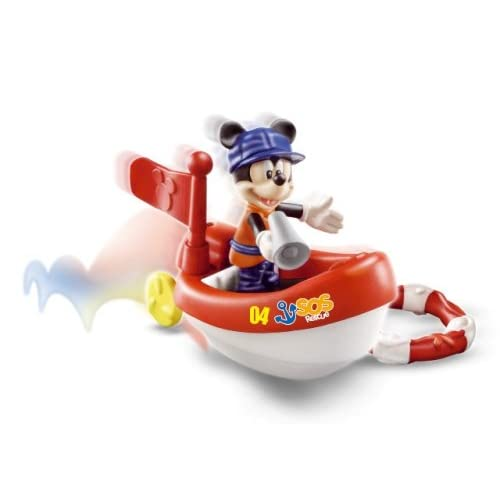 MICKEY MOUSE CLUBHOUSE DISNEY DONALD und rotes Auto / Feuerwehr*FAMOSA