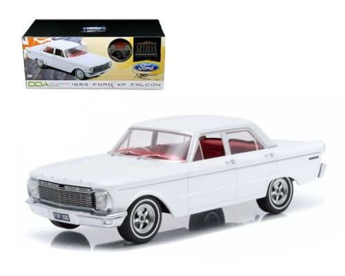 New 1:18 ARTISAN COLLECTION - WHITE 1965 FORD XP FALCON (50TH ANNIVERSARY) Diecast Model Car By Greenlight (1965 Ford Falcon Model compare prices)