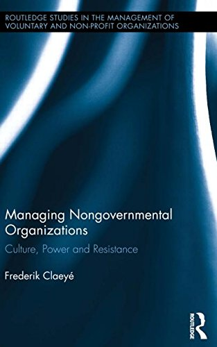 Managing Nongovernmental Organizations: Culture, Power and Resistance (Routledge Studies in the Management of Voluntary