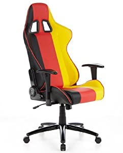 racing office chair race car seat faux leather germany