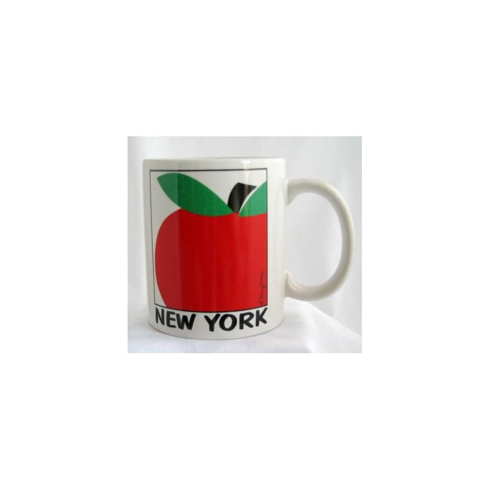 New York Mug Ceramic Souvenir Coffee Cup With New York Big Apple Design Collectible Gift