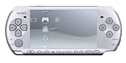 PSP「プレイステーション・ポータブル」 バリュー・パック ミスティック・シルバー (PSP-3000KMS) 【メーカー生産終了】