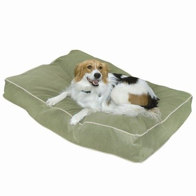 Buster Dog Bed, 18 by 24-Inch Extra Small, Moss
