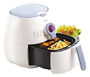 Philips Airfryer Hd 9220 White Violet Fryer with Timer