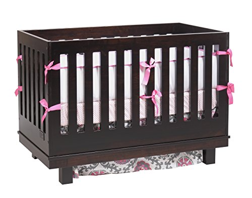Capretti Design Liscio Convertible Crib, Natural