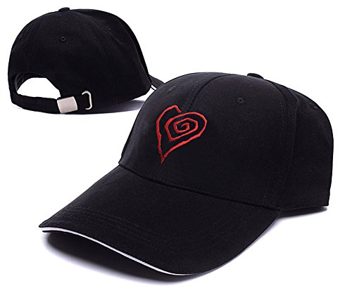 Jeffrey Marilyn Manson Heart Adjustable Baseball Caps Unisex Embroidery Hats