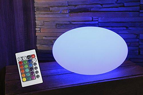 Design-Tischlampe-LED-inkl-Fernbedienung-Akku-Farbwechsel-moderne-Leuchte-16-Farben