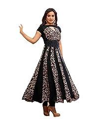 Zohraa Black Faux Georgette Anarkali Suit - Z1928P2032-11