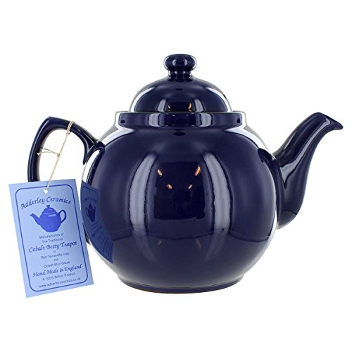 Cobalt Betty Teapot - 6 Cup (Original Brown Betty Teapot compare prices)
