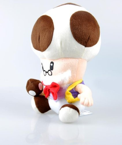 """Super Mario Brothers 10"""" Anime Animal Stuffed Plush Toys Toad Toadsworth front-521423"""