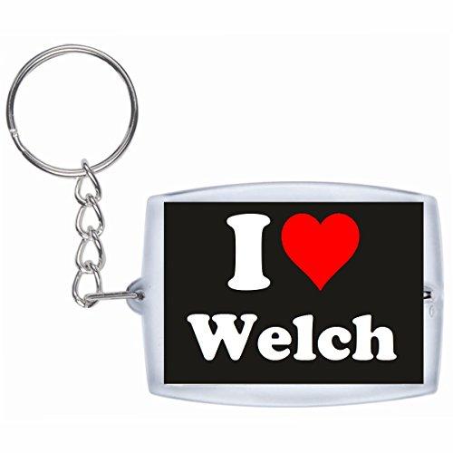 esclusivo-portachiavi-keychain-i-love-welch-in-nero-una-grande-idea-regalo-per-il-vostro-partner-la-