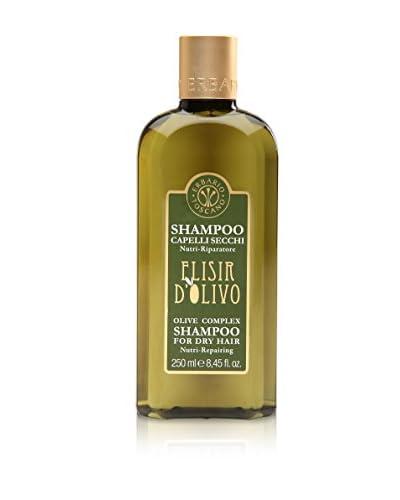 Erbario Toscano Set 2 Pezzi Shampoo Per Capelli Secchi Elisir D'Olivo 250 ml cad.