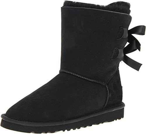 UGG Australia Womens Bailey Bow Boot Black Size