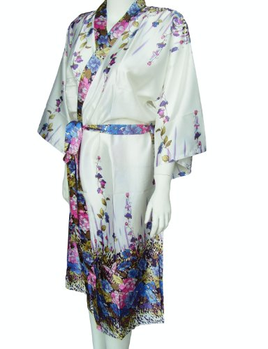 Wild flower with butterfly dressing gown