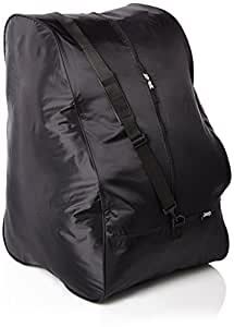 Jeep Car Seat Travel Bag, Nylon, Universal Size Fits All Car Seats, Shoulder Strap Included, Black